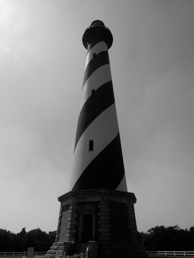 National Parks and Seashores of the East- Hatteras Lighthouse- www.afriendafar.com #capehatterasnp #outerbanks