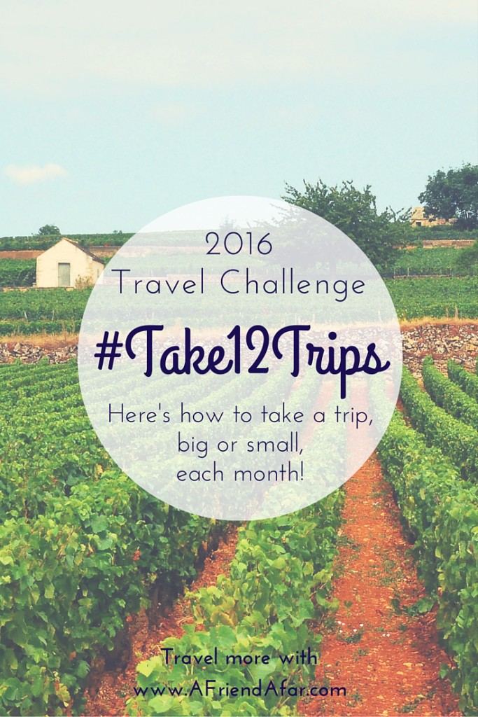 #12 Trips How to Travel More