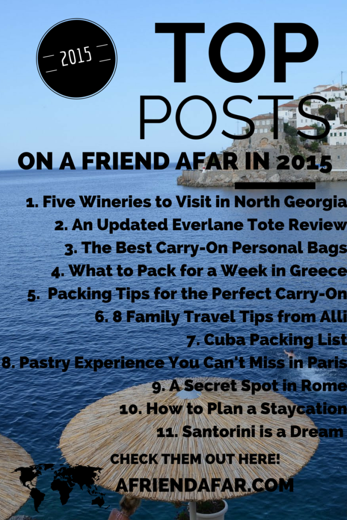 Top Posts of 2015- www.afriendafar.com #afriendafar #yearinreview