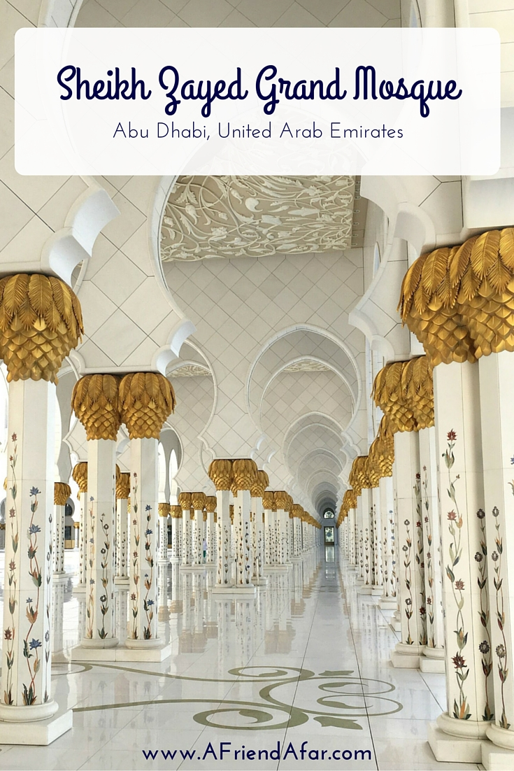 Sheikh Zayed Grand Mosque - Abu Dhabi, United Arab Emirates