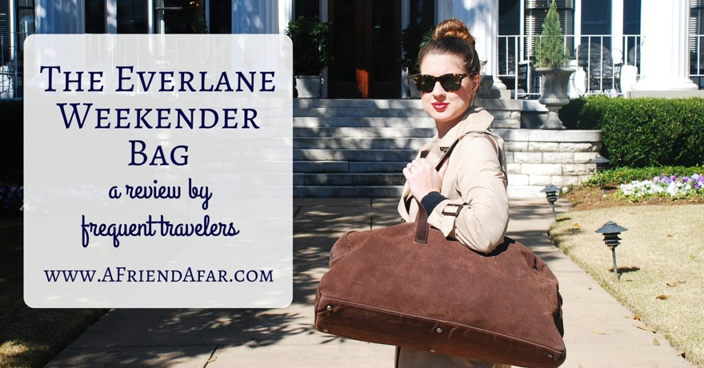 Everlane Weekender Review