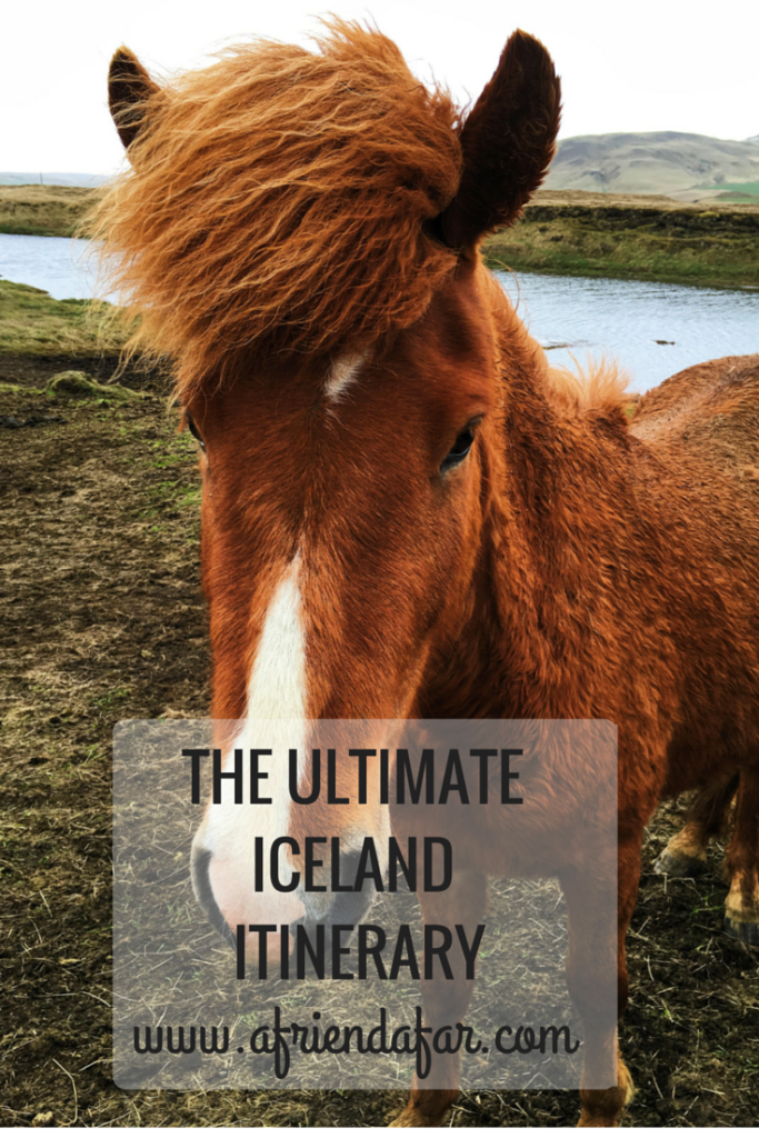 The Ultimate Iceland Itinerary- www.afriendafar.com #iceland #itinerary #ringRoad