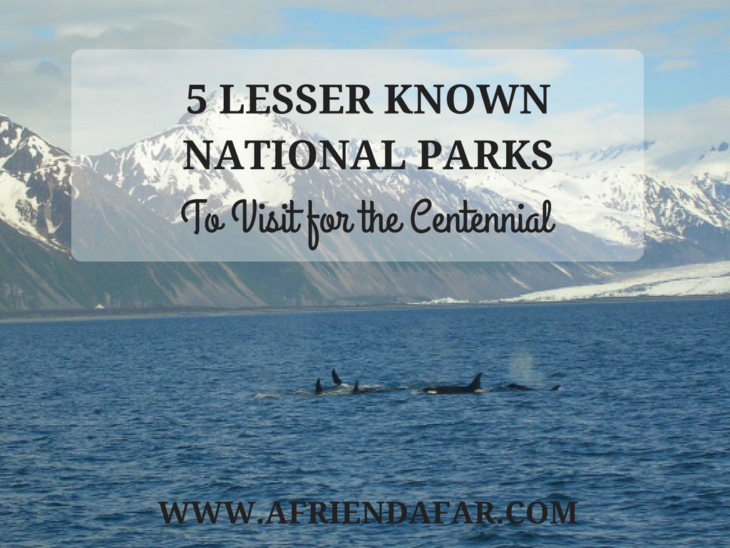 5 Lesser Known National Parks- www.afriendafar.com #nationalparks #us