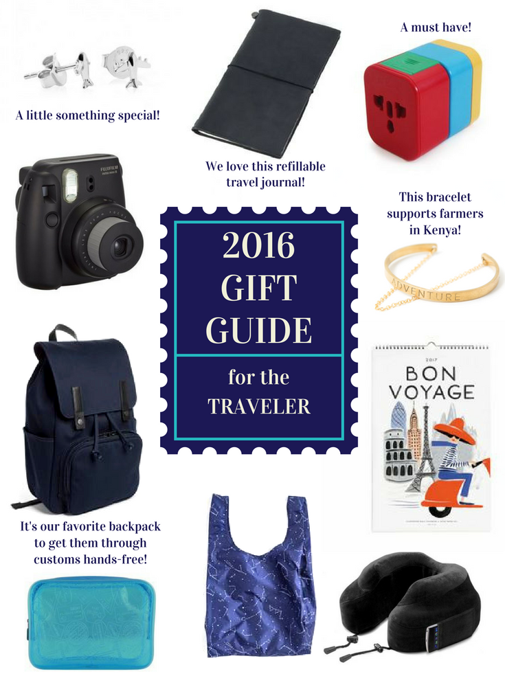 2016 Traveler Gift Guide - A Friend Afar