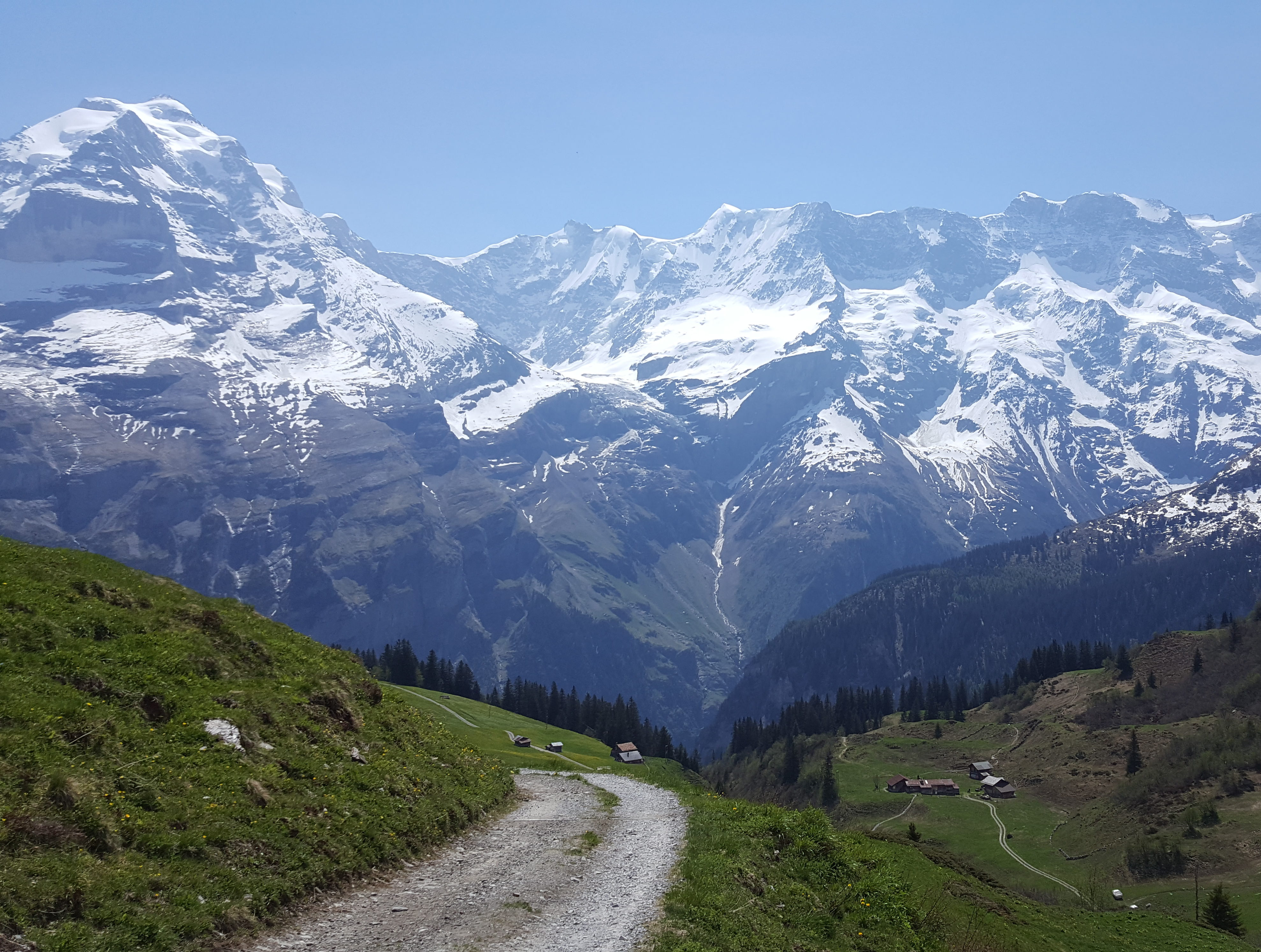 A hike along the North Face Trail in Murren, Switzerland took Meagan's breath away.
